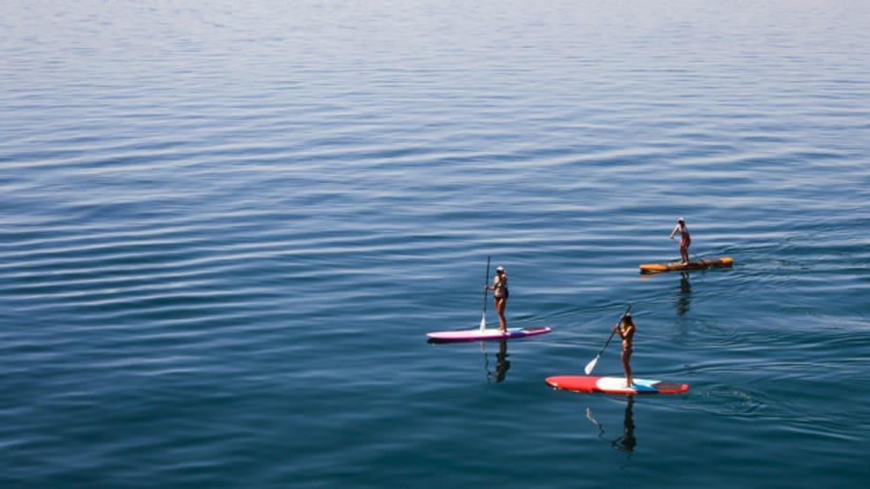 Wassersportler auf ihren Brettern sollen in Scharen kommen.