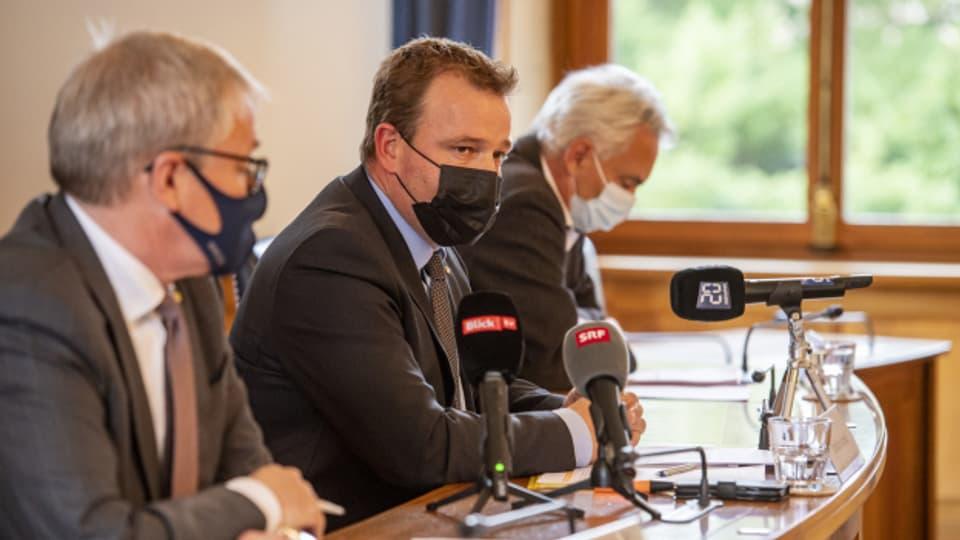 Die Urner Regierung stellte neue Massnahmen am Montag vor