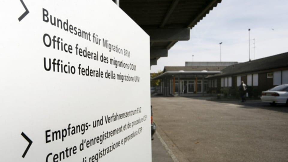 Das Basler Bundesasylzentrum wurde komplett abgeriegelt.