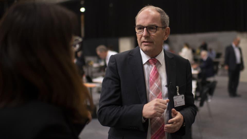 St.Galler Gesundheitsdirektor Bruno Damann