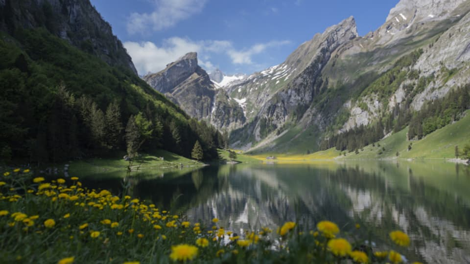An den Bergseen in Innerrhoden wurde diesen Sommer mehr gefischt.