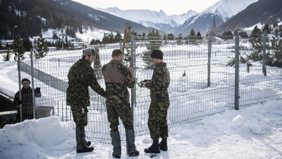 Sicherheitskosten WEF Davos
