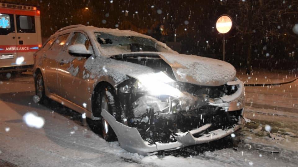 Schneechaos auf Ostschweizer Strassen