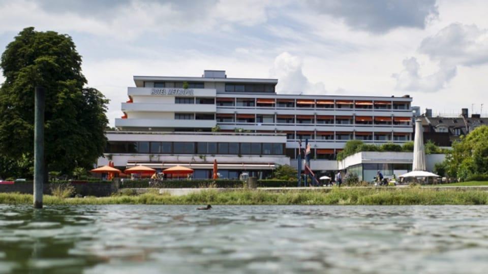 Das Hotel Metropol soll einer Wohnüberbauung weichen.