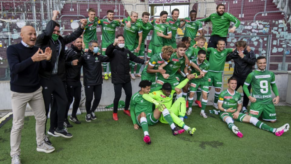 Der FC St. Gallen steht im Schweizer Cupfinal