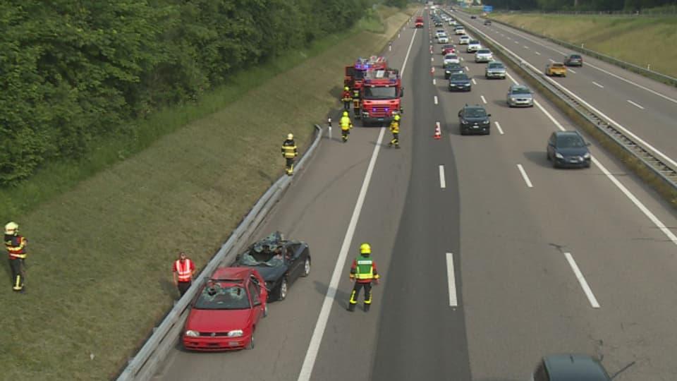 Fingierter Verkehrsunfall bei Oberbüren