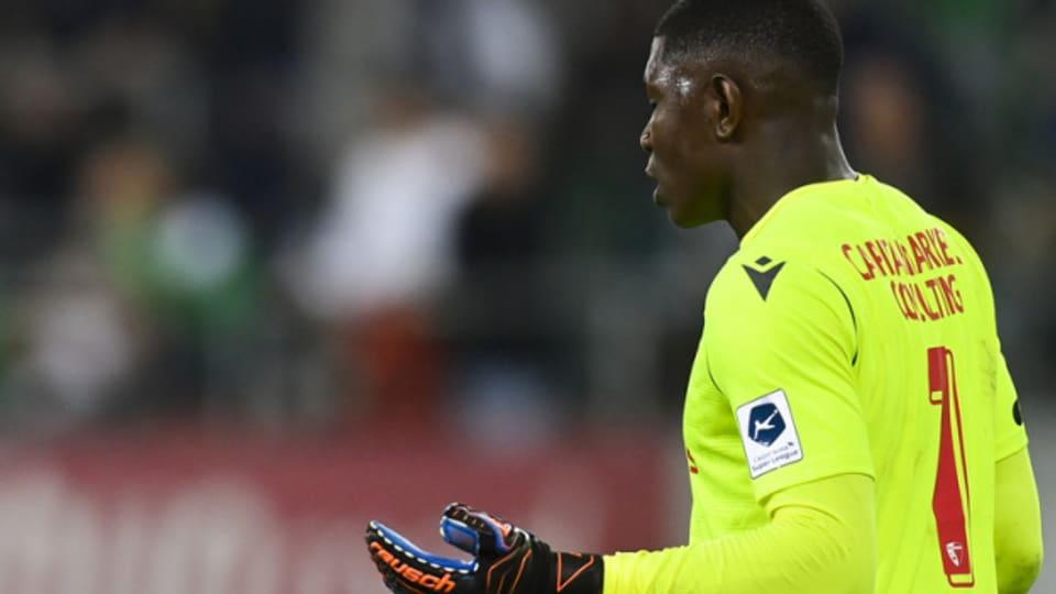 Sion-Torwart Timothy Fayulu soll von Fans rassistisch beschimpft worden sein