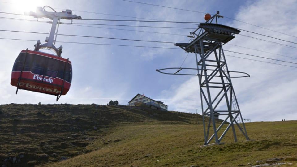 Mit der Ebenalpbahn in den Alpstein (Symbolbild)