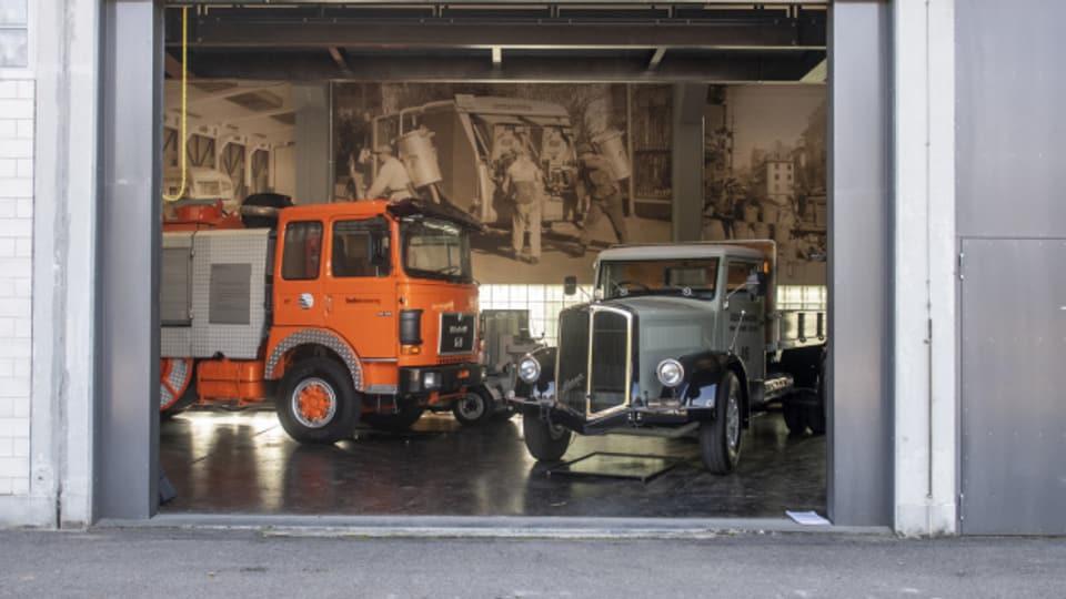 Das ERZ unterhielt auch ein illegales Oldtimer-Museum