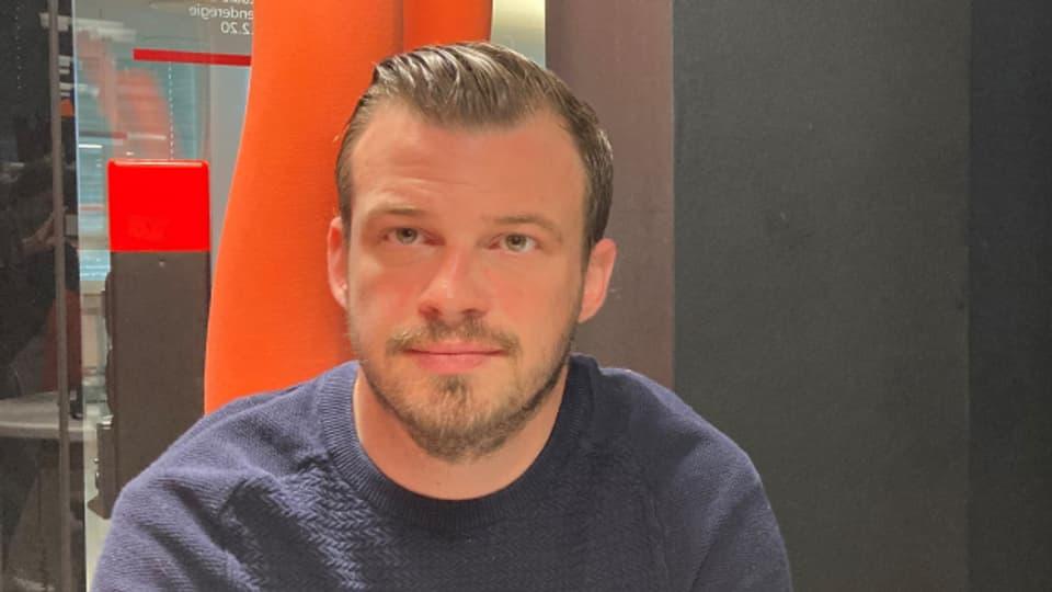 Pascal Signer, seit drei Jahren Geschäftsführer des EHC Kloten.