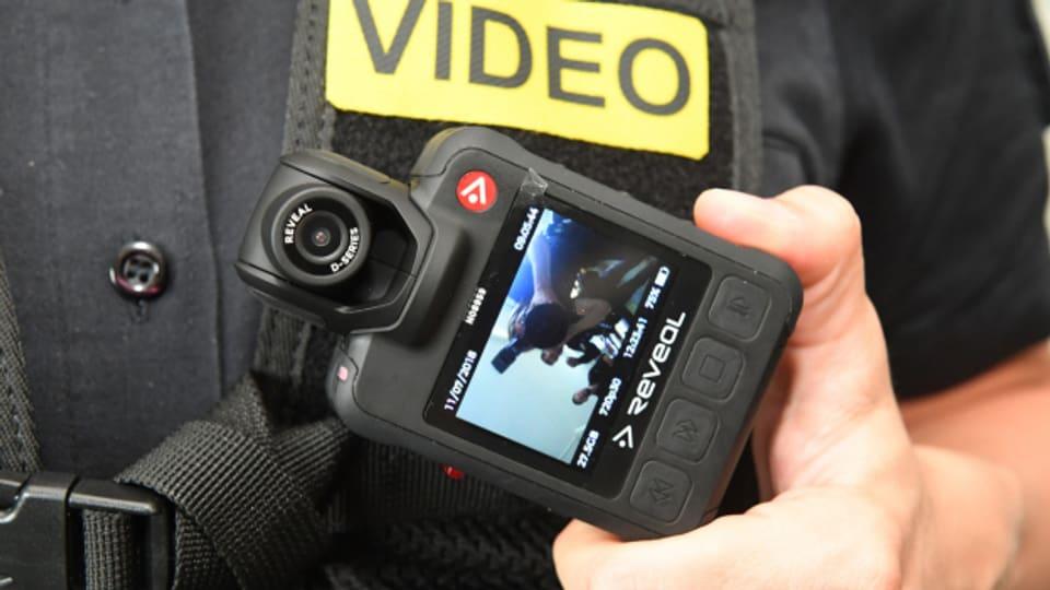 Die Einführung der Bodycams soll wissenschaftlich begleitet werden.