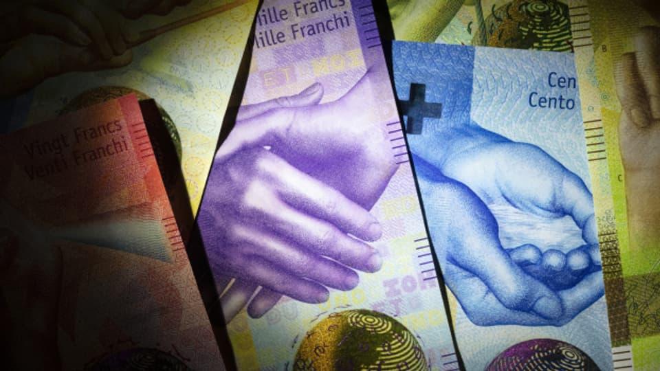 Der grösste Teil des ausbezahlten Geldes stammt vom Bund.