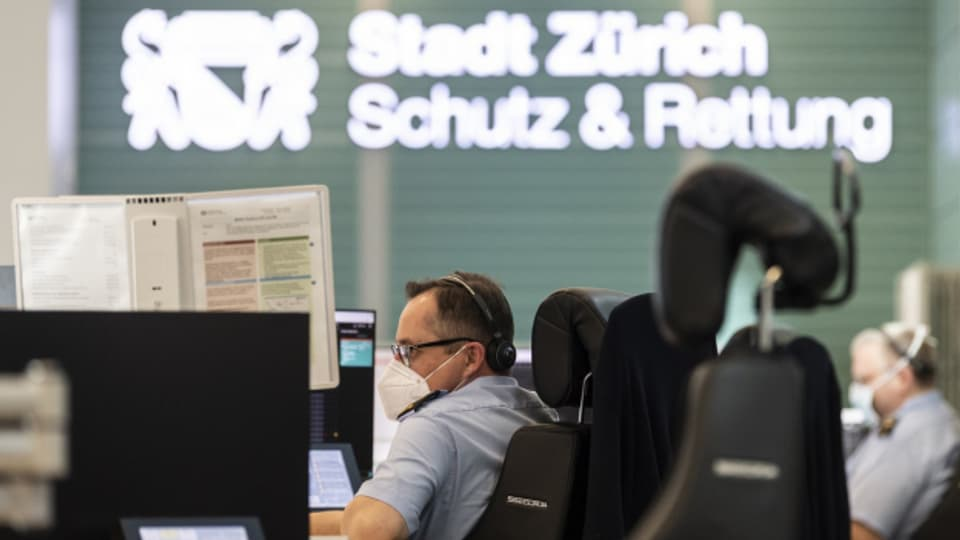 Einsatzzentrale SRZ am Flughafen Zürich