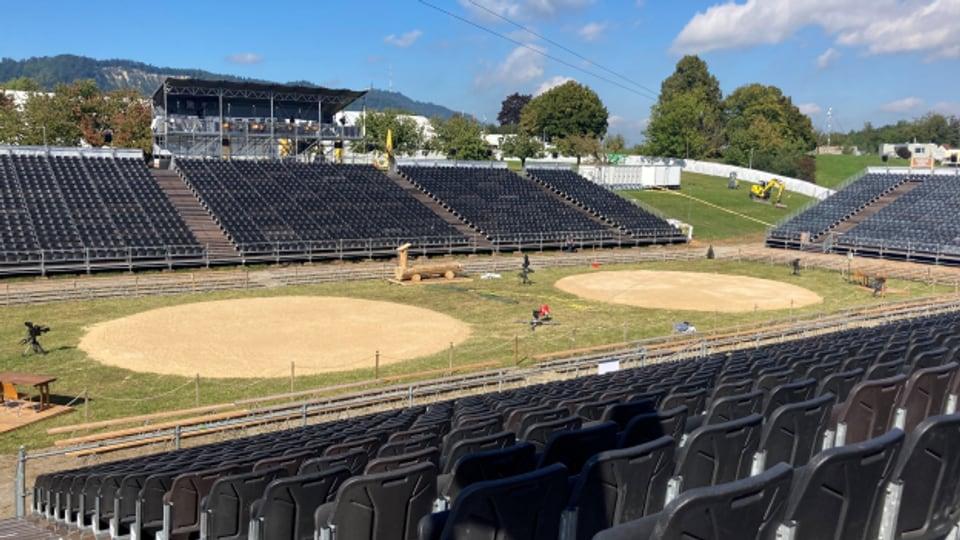 Die Arena für das Kilchberger