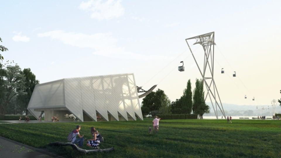 Die Stadt Zürich will grossen Bauprojekten in Seenähe keinen Riegel schieben.
