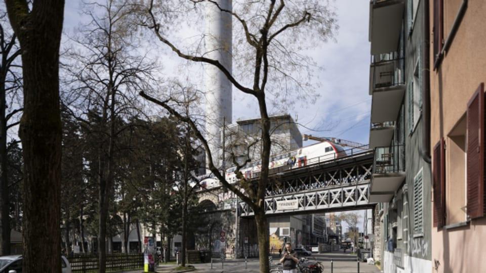 Rund um die Kehrichtverbrennungsanlage Josefstrasse macht der Kanton Zürich nun Messungen.
