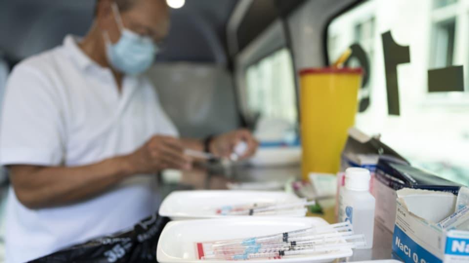 Der Kanton Zürich überlegt sich, ob er einen weiteren Impfbus anschafft.