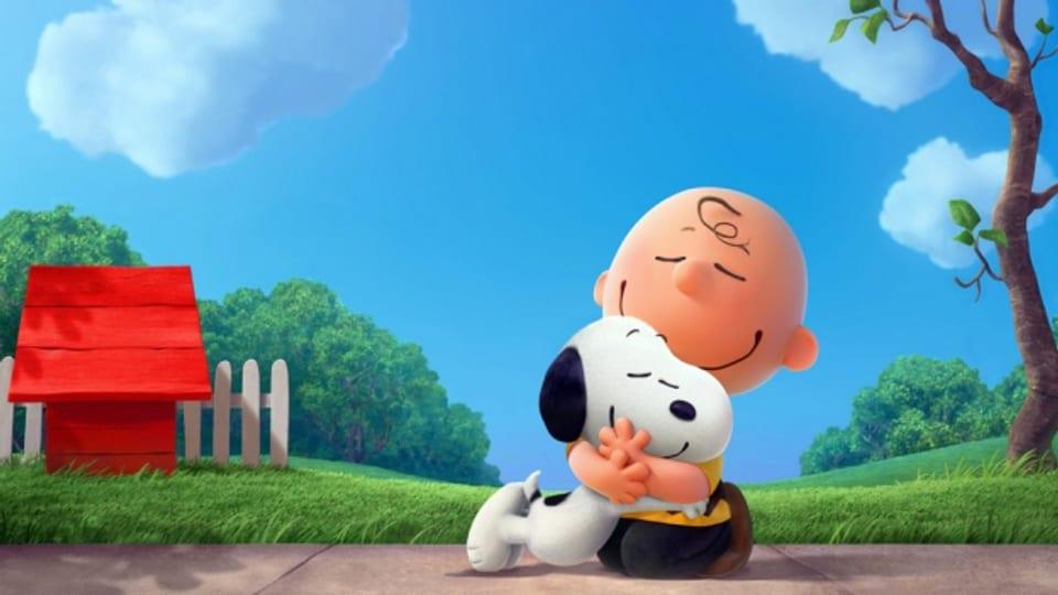 Charlie Brown e Snoopy.