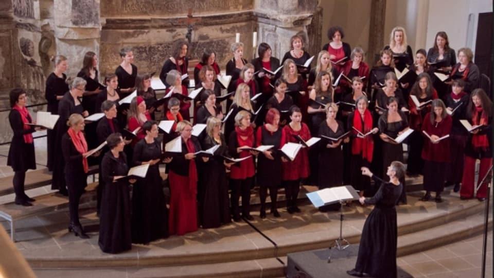 Gruppa da chant Chursüd e Dresden.