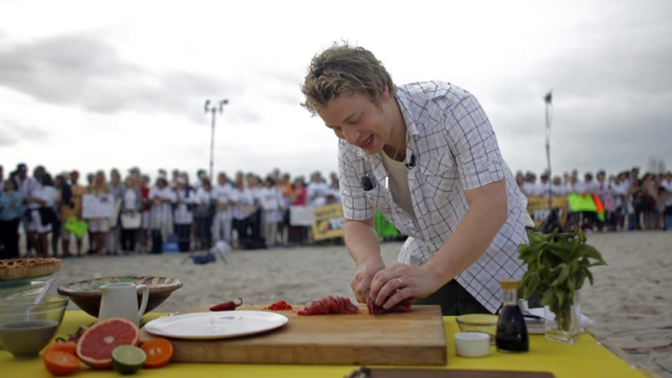 Il cuschinier Jamie Oliver è renumà per sias spaisas simplas.