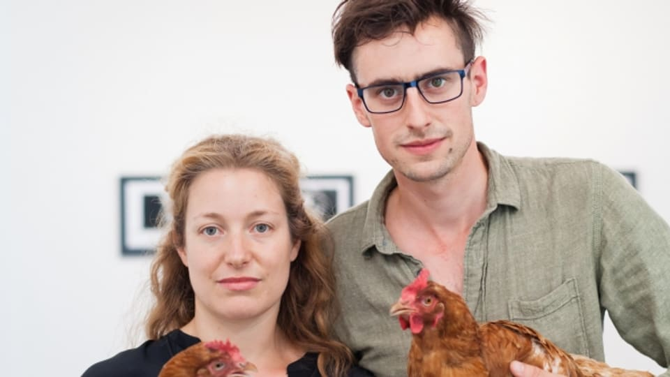Dapi il 2014 collian Flurina Badel e Jérémie Sarbach lur art e lur amur.