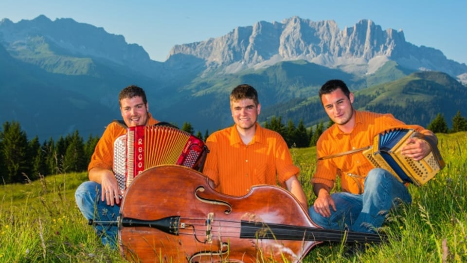 Ils trais musicants dal Trio Duranand.