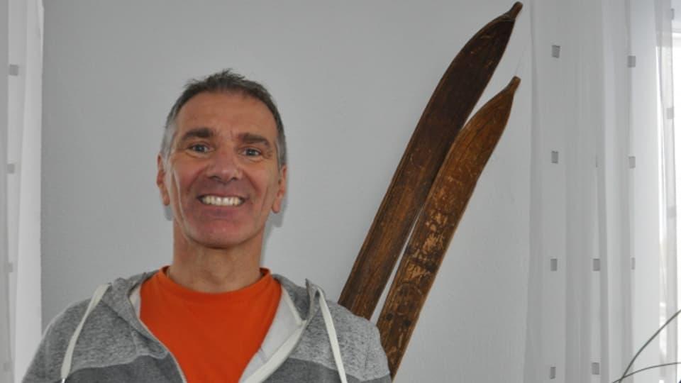 Norbert Coray ed ils skis