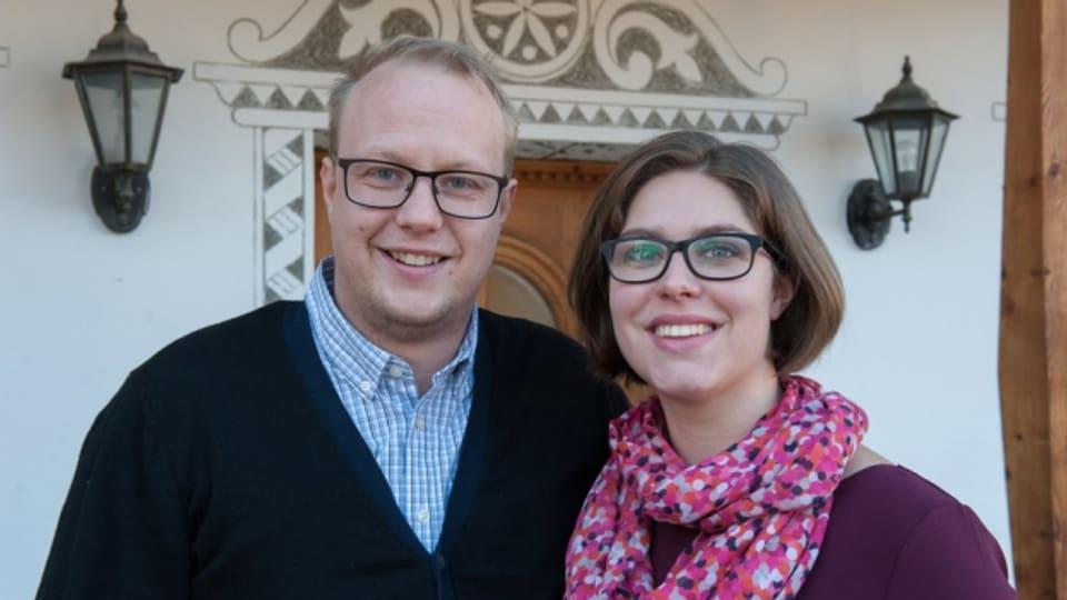 Michael e Manuela Kanski han emprendì d'enconuscher in l'auter en l'hotel ch'els han fatg l'emprendissadi.