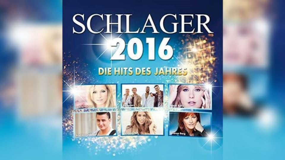 Il cover dal niev disc Schlager des Jahres 2016