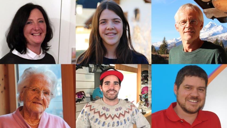 6 persuas raquintan da lur midadas el 2016