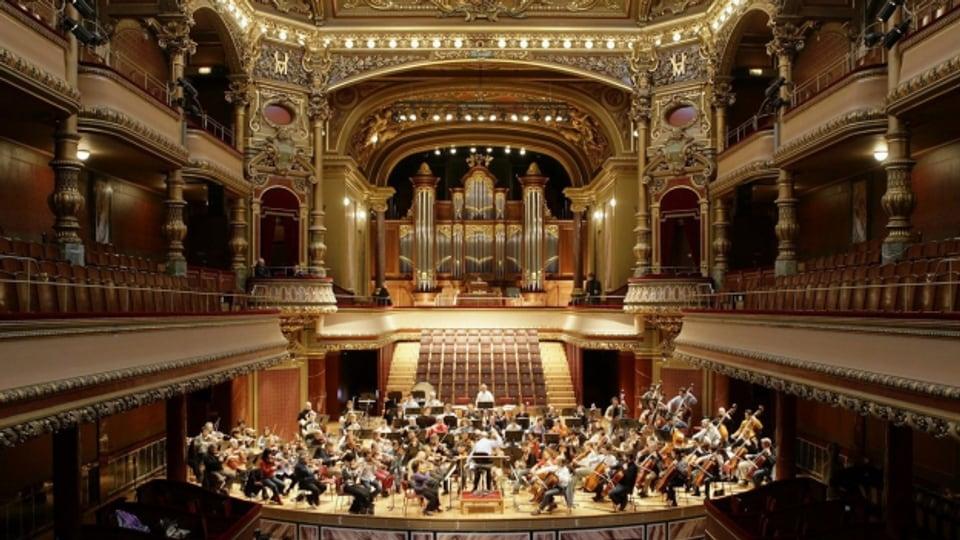 Concert en la Victoria Hall a Genevra