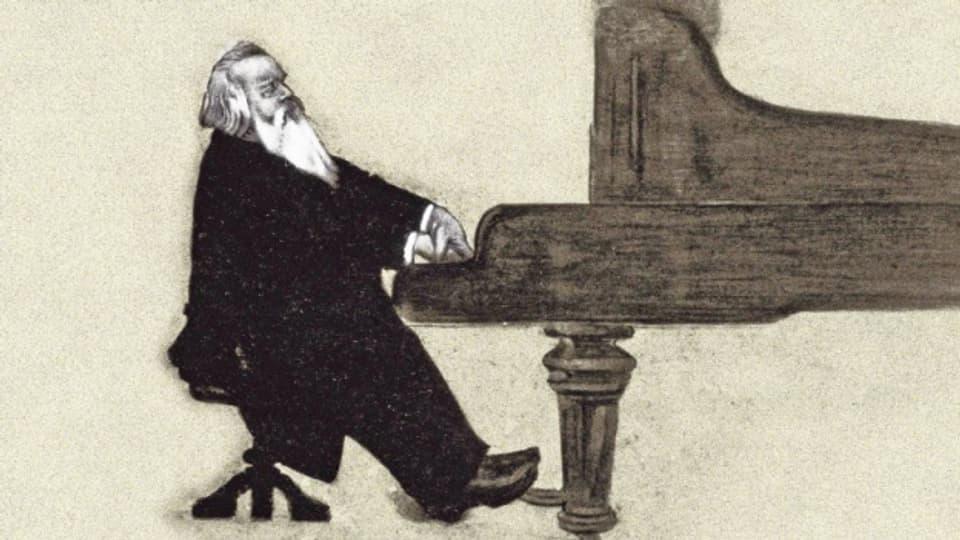 Johannes Brahms - il romanticher al piano
