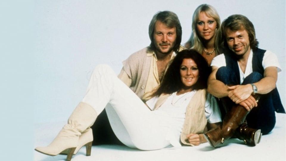 Agnetha Fältskog, Anni-Frid, Björn e Benny da ABBA il 1979