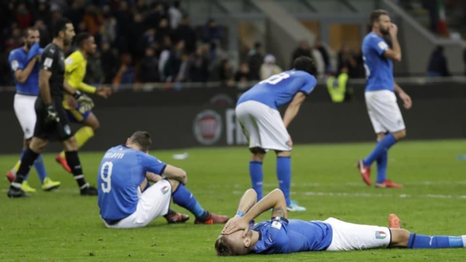 Ina situaziun che la Squadra Azzurra ha gi l'ultima giada avant 60 onns – els na van betg al campiunadi mundial.