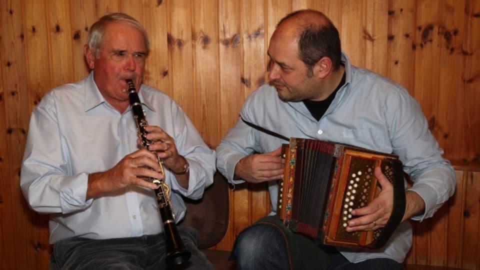 Roger und Rene Degoumois aus Yvorne VD.