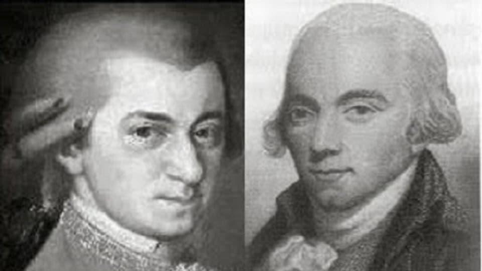 Wolfgang A. Mozart e Muzio Clementi - cumponists