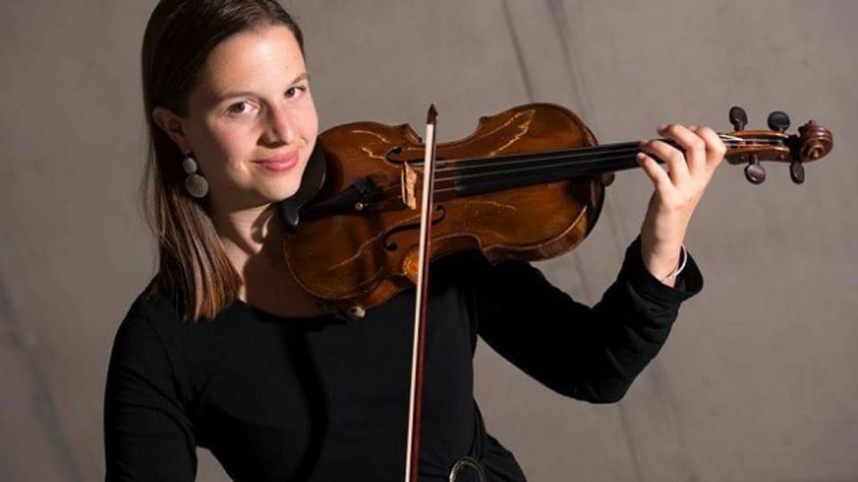Flurina Sarott - la violinista da Scuol