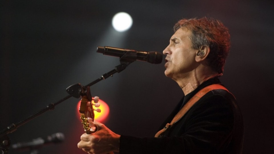 Il musicist grec George Dalaras.