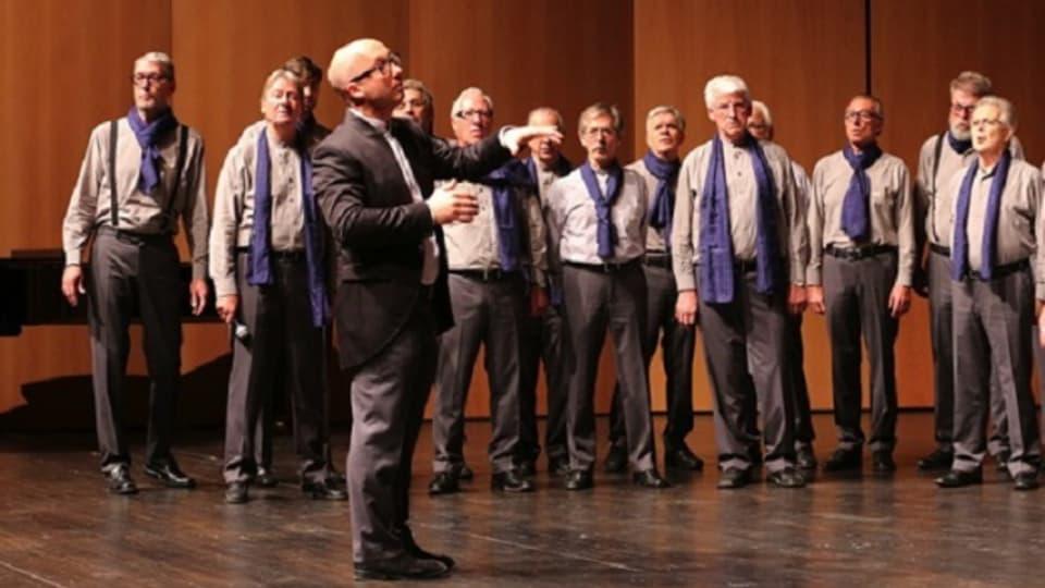 I Cantori delle Cime Lugano cun maestro M. Rigamonti