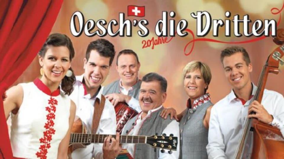 Oesch's die Dritten, ina tipica band da famiglia.
