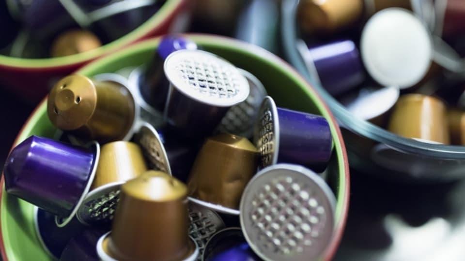 Las capslas da café d'aluminum da Nespresso èn fitg derasadas en Svizra.