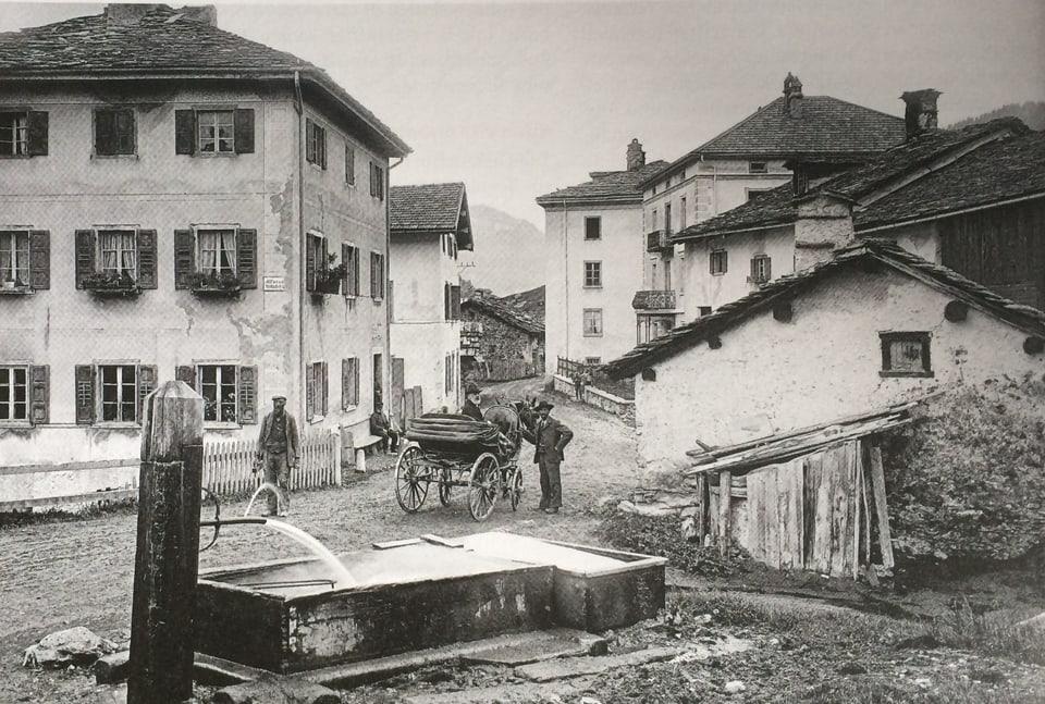 Fotografia istorica dal vitg da Murmarera