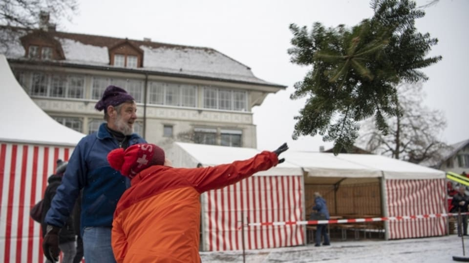 Bittar pignols da Nadal a Steffisburg.