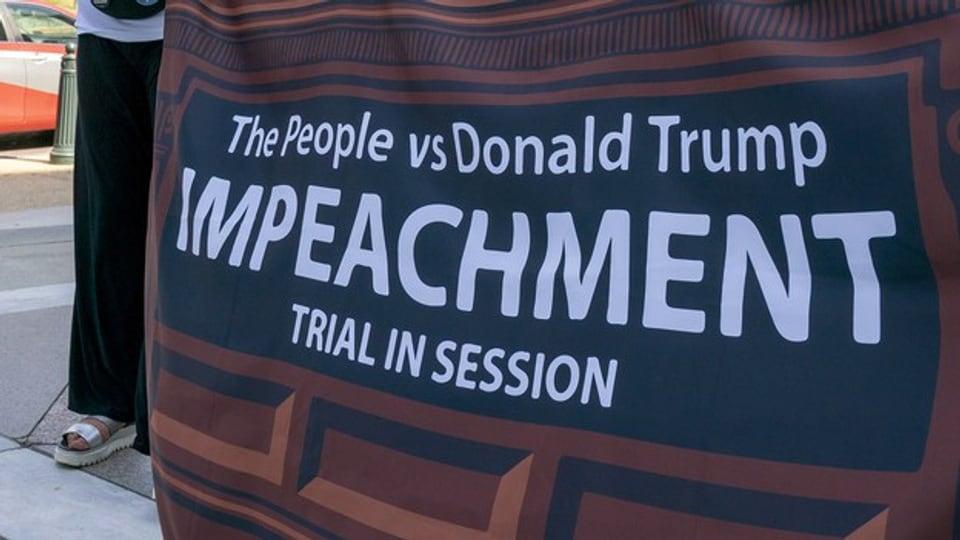 In placat che pretenda in «impeachment» cunter Donald Trump.