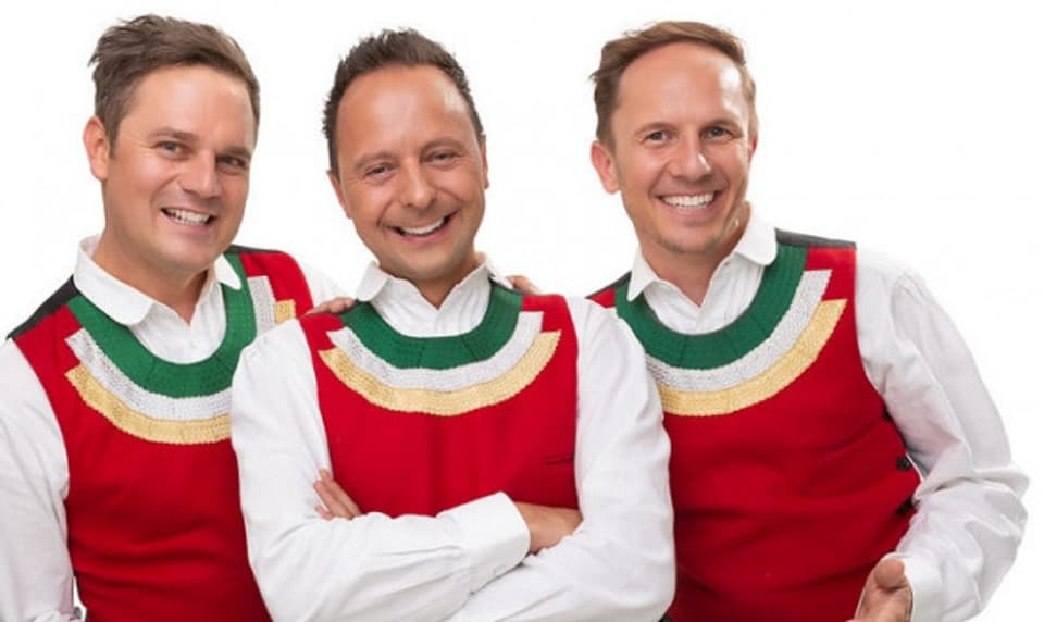 Die jungen Zillertaler, Markus, Daniel und Michael