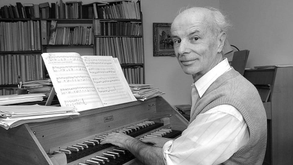 Il cumponist Gion Antoni Derungs - naschì avant 85 onns