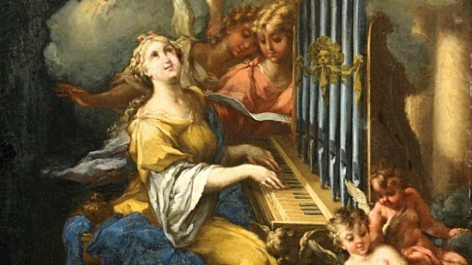 Sontga Cecilia - la patruna da la musica