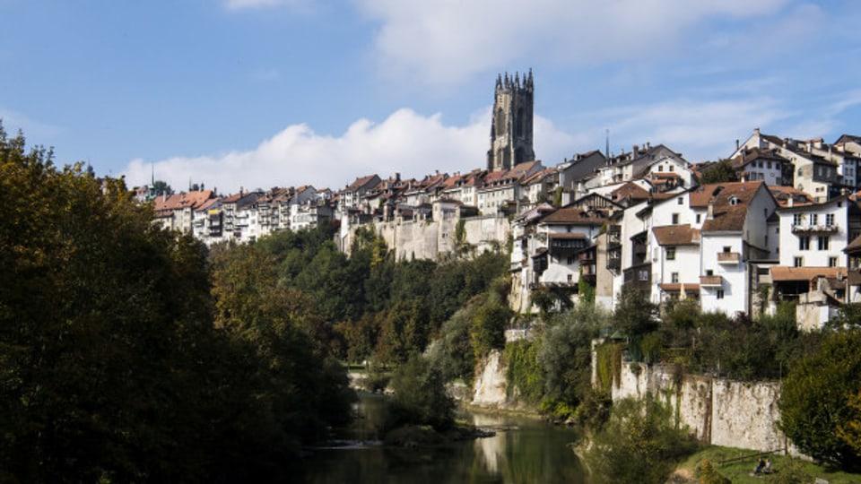 purtret da la citad da Fribourg.