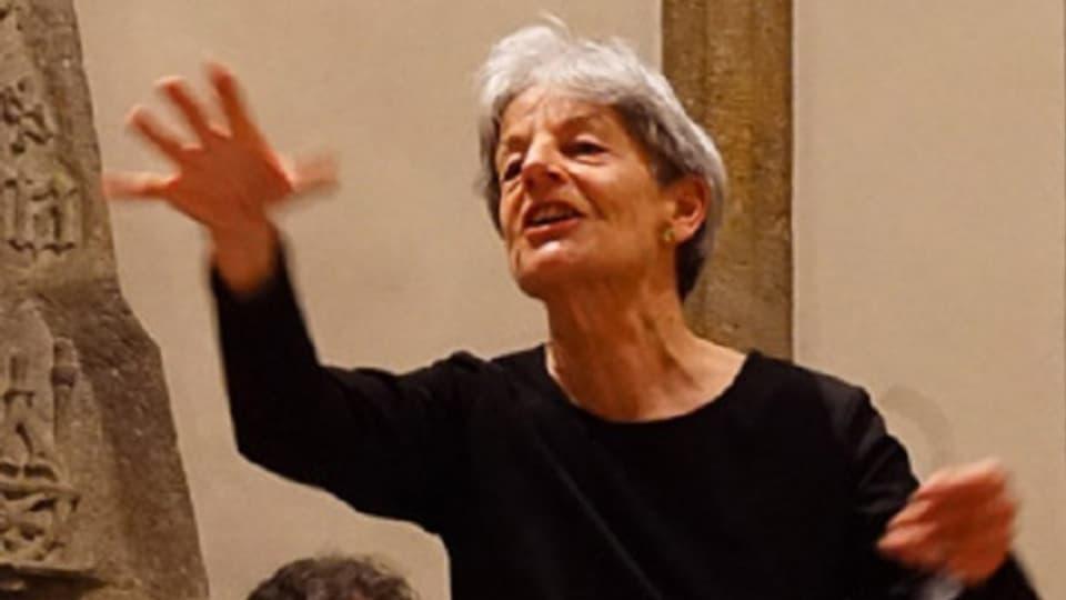 Gianna Vital-Janett - dirigenta da chors en Engiadina