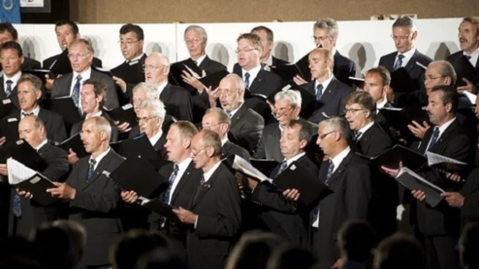 Chor viril Lumnezia - in concert